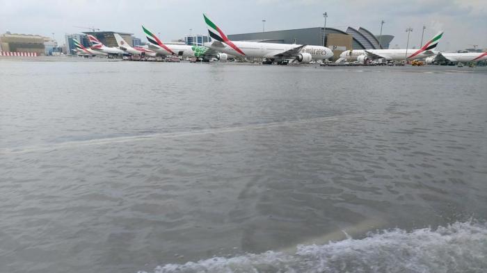 Dubai airport flights delayed, canceled due to heavy rain