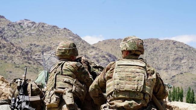 Roadside bomb kills two US troops in Afghanistan