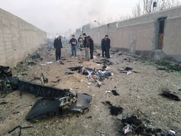 Black box of the Ukrainian plane crashed in Iran found