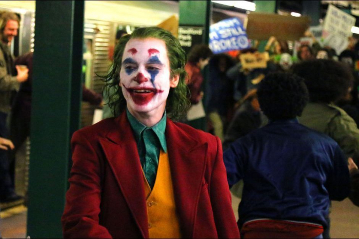 """Le film """"Joker"""" en tête d"""