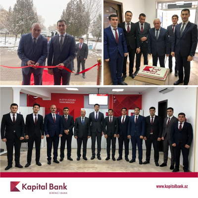 Kapital Bank Naxçıvandakı daha 3 filialını yenilədi