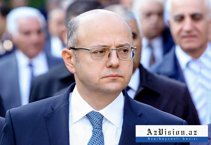 Pərviz Şahbazov İstanbulda türkiyəli həmkarı ilə görüşüb