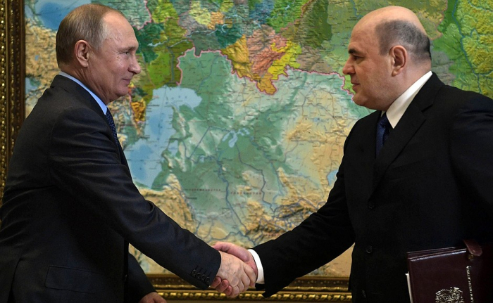 Putin Mişutsini Baş Nazir təyin etdi