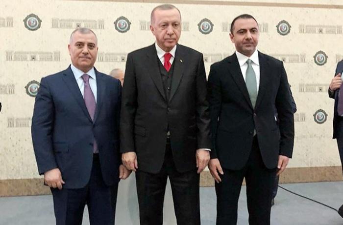 Əli Nağıyev və Orxan Sultanov Ərdoğanla görüşüb - FOTO