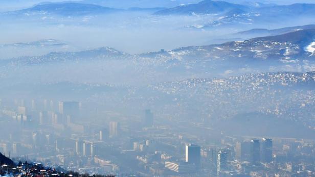 Les Balkans étouffent dans une purée de pois toxique