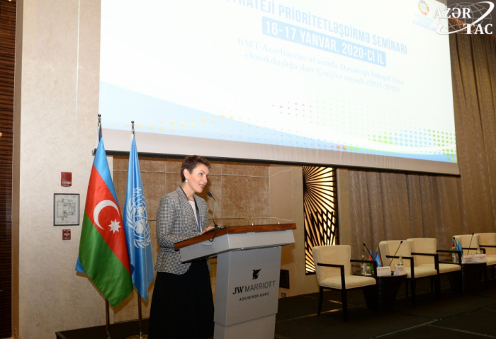 Azerbaiyán y ONU discuten el marco de cooperación para el período 2021-2025