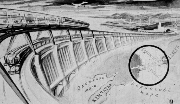 """SSRİ-nin ağlasığmaz layhəsi: """"Berinq səddi""""    (Gizli Tarix)"""