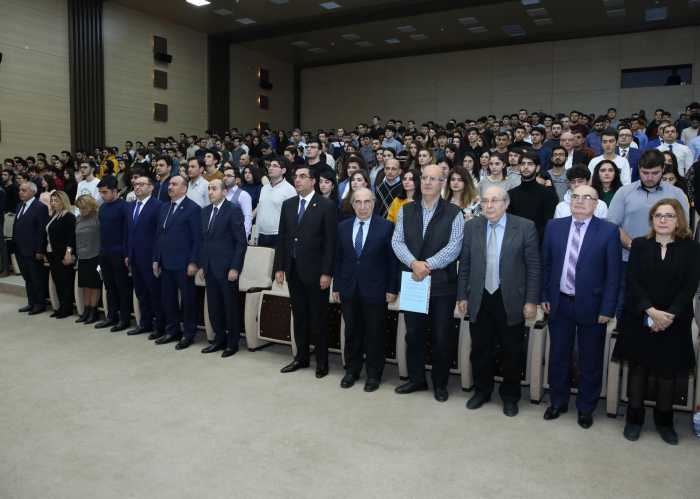 Baku Higher Oil School hosts commemorative event dedicated to 30th anniversary of 20 January tragedy