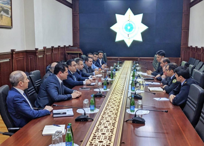 Joint working group of State Customs Committee and Caspian European Club holds meeting