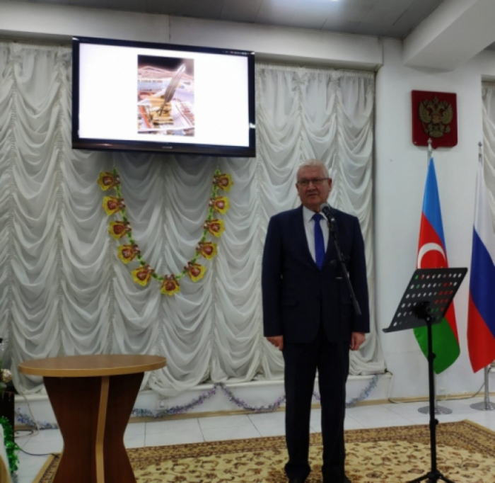 Bakú celebra el Día de la Prensa Rusa