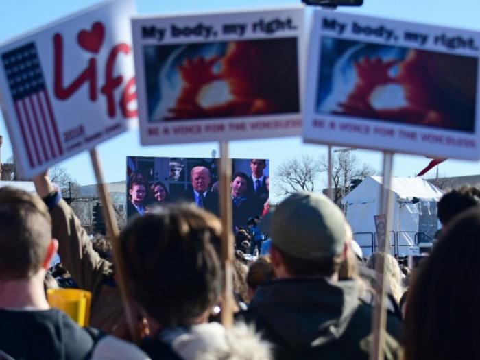 Donald Trump sera le premier président à participer à la marche anuelle anti-avortement