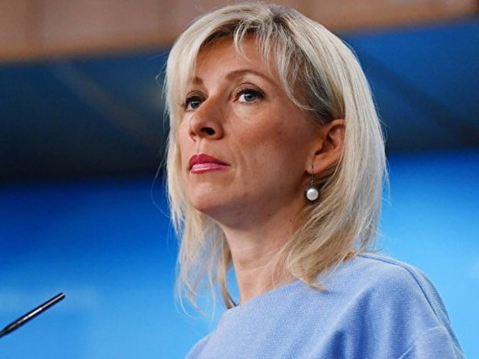 Maria Zakharova arrives in Baku