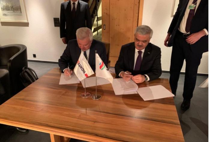 SOCAR et Lukoil signent un mémorandum de coopération