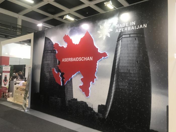 Alrededor de 180 variedades de productos azerbaiyanos se exhiben en la Semana Verde Internacional