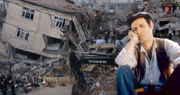 Zəlzələ nəticəsində tanınmış aktyorun evi uçub