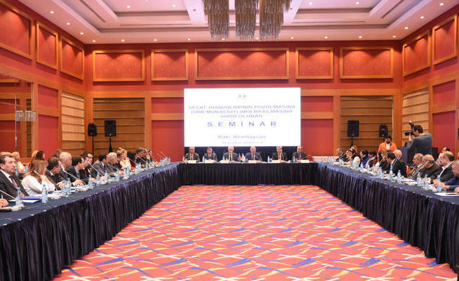 Azerbaijan CEC holds seminar for members of expert group