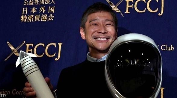 ملياردير ياباني يبحث عن حبيبة ليأخذها في رحلة إلى القمر