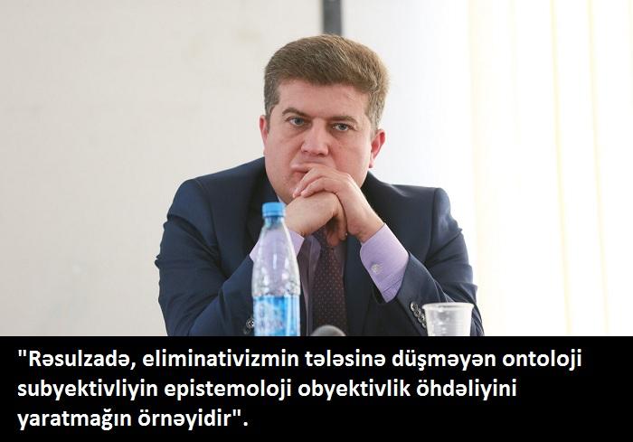 Lost in Translation: Erkin Qədirlinin Rəsulzadə haqda qəliz cümləsi nə deməkdir?