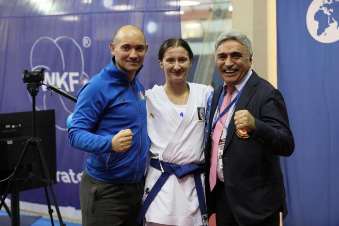 Azerbaijani female fighter takes gold at Karate1 Premier League in Paris