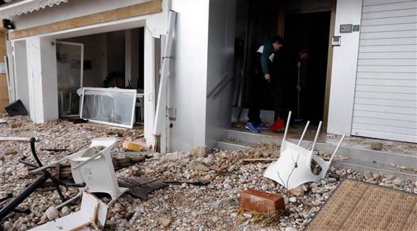 """ارتفاع حصيلة """"غلوريا"""" في إسبانيا إلى 11 قتيلاً"""
