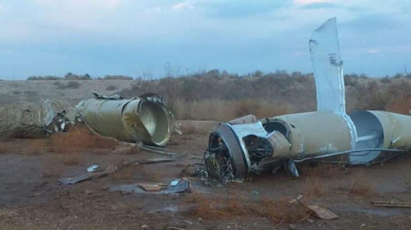 İranın ABŞ bazasına atdığı raketin FOTOLARI