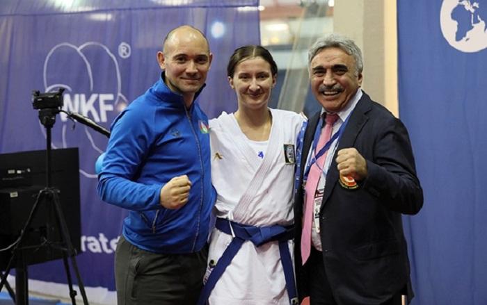 Karateçimiz qızıl medal qazandı