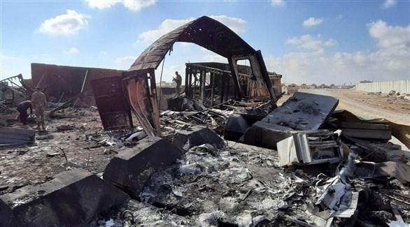 إصابة 11 جندياً أمريكياً في هجوم إيران الصاروخي