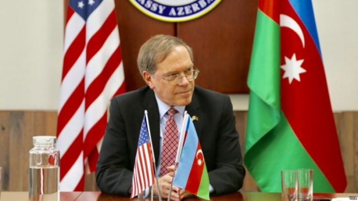 Karabakh conflict discussed with US ambassador to Azerbaijan
