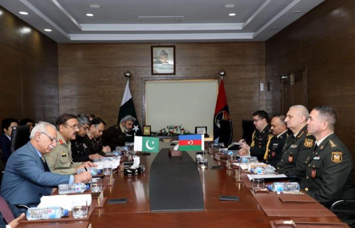 اجتماع مجموعة العمل الأذربيجانية الباكستانية