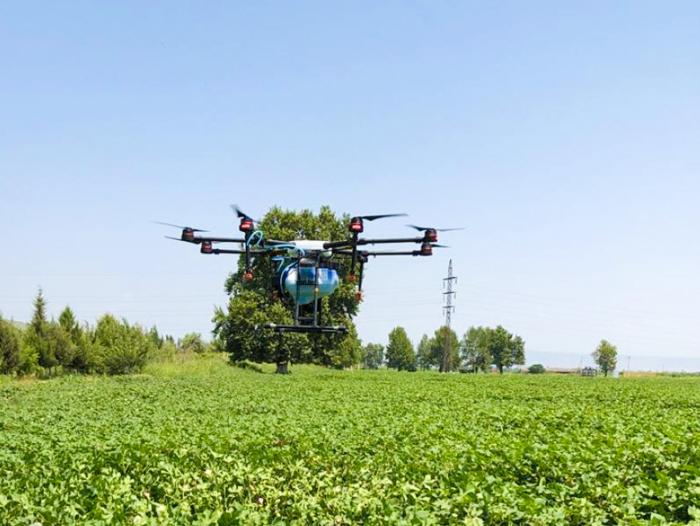 Kənd təsərrüfatında dronlardan istifadə genişlənir