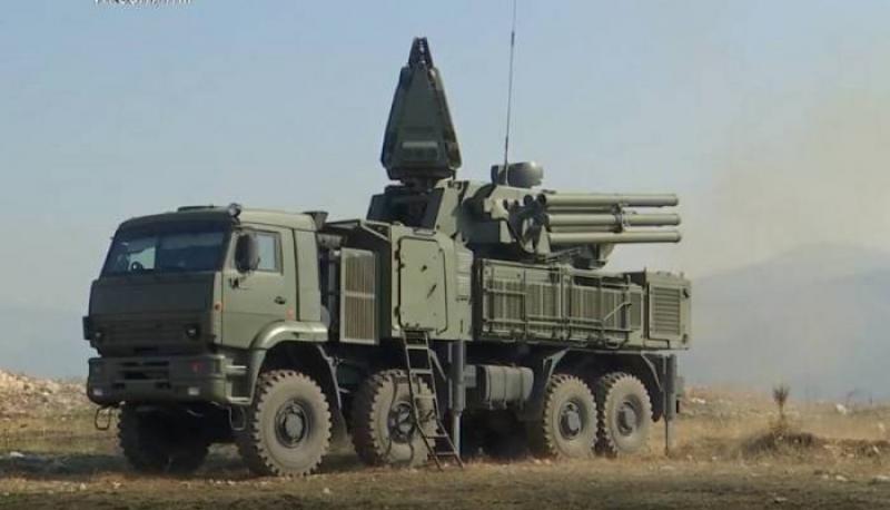 """Serbiya Rusiyadan """"Pantsir-C1"""" sistemlərini alıb"""