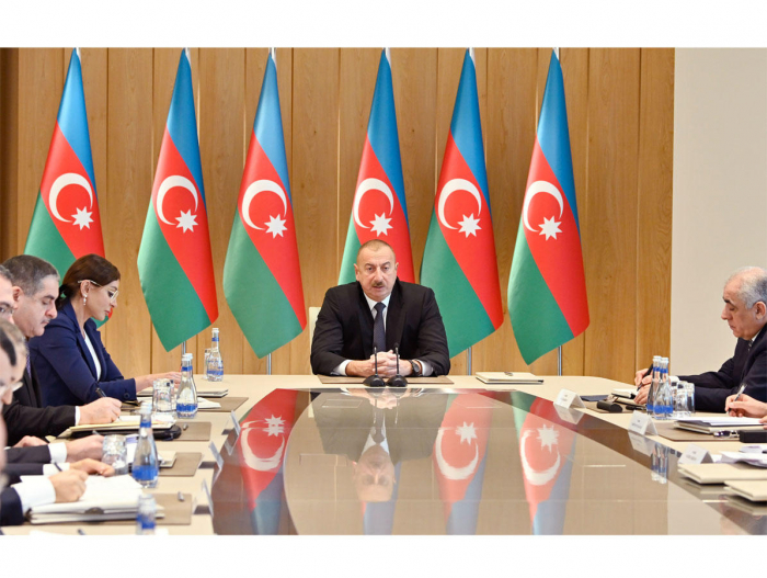 President Ilham Aliyev chairs meeting on final results of 2019 - FULL SPEECH