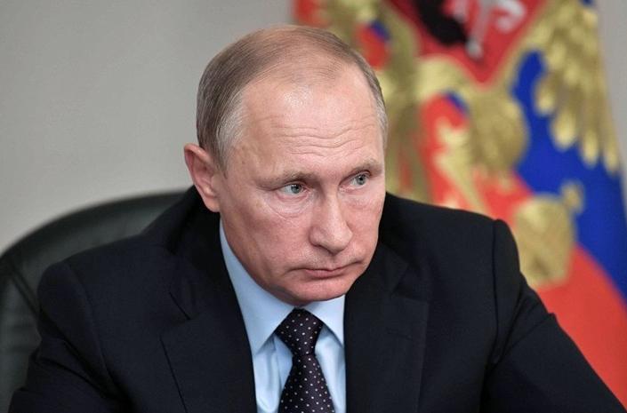 Putinin arxiv görüntüləri üzə çıxdı -  VİDEO
