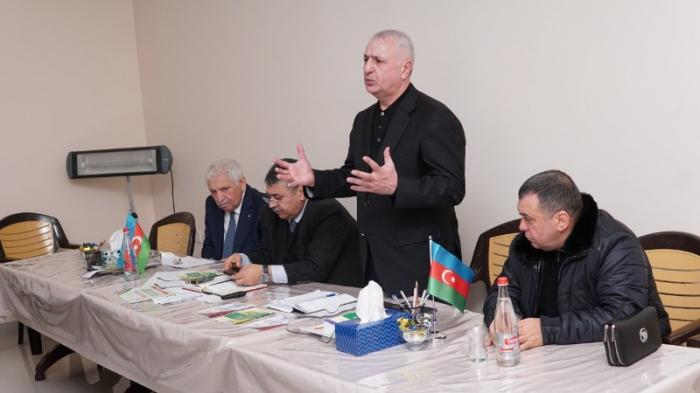 Ülvi Quliyev təbliğat və təşviqat kampaniyasına start verdi - FOTOLAR