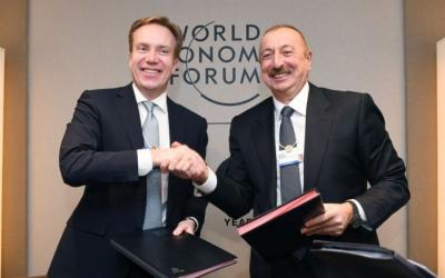 مركز إقليمي للمنتدى الاقتصادي العالمي سيتم الانشاء في أذربيجان -  صور