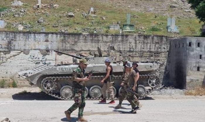 Suriya ordusu As-Samkaya nəzarəti bərpa edib