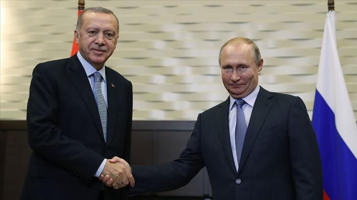 Ərdoğan və Putin İstanbulda görüşdü - Yenilənib