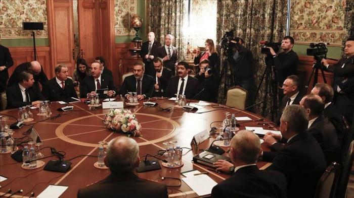 Moscou : début de la réunion entre les délégations turque et russe sur la Libye