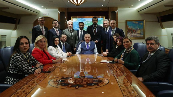 """Erdogan:   """"La présence de la Turquie en Libye a permis d'équilibrer l'équation"""""""