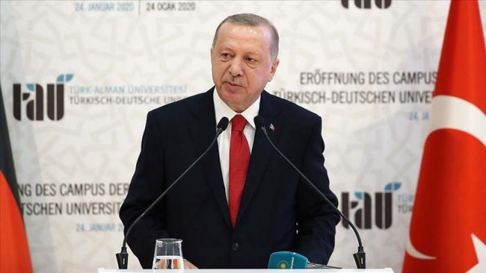 """Erdogan:   """"La communauté internationale ne doit pas répéter en Libye les erreurs commises en Syrie"""""""