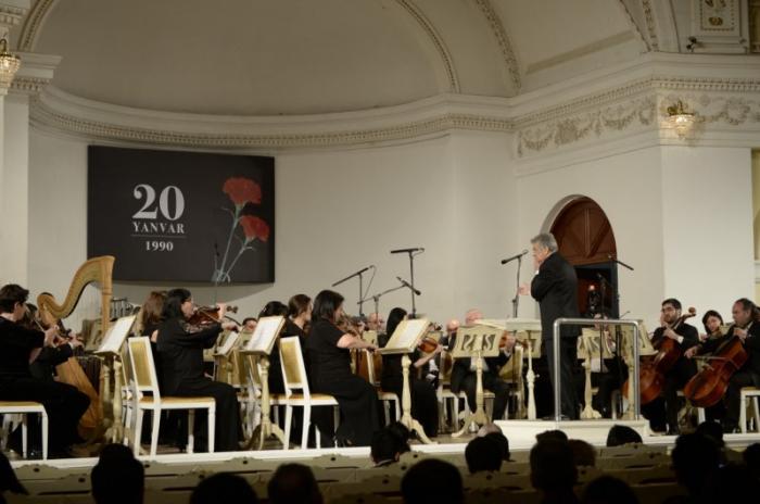 20 Yanvar faciəsinə həsr olunmuş konsert keçirilib