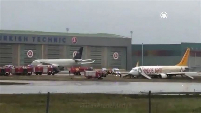 Turkey: Plane skids off runway at Sabiha Gokcen Airport