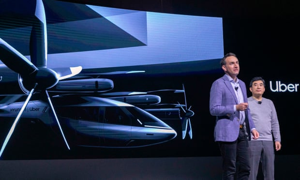 Uber reveals plans for flying taxi to bypass road traffic congestion