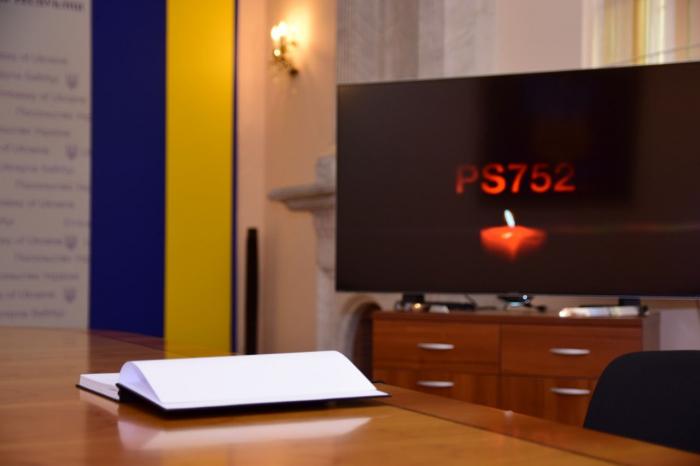 Ukraynanın Bakıdakı səfirliyində başsağlığı kitabı açıldı
