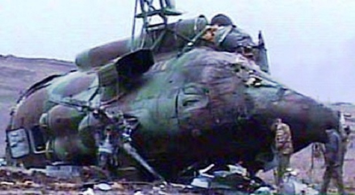 28 years pass since Armenians shooting down helicopter in Shusha