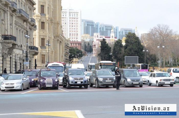 Schweigeminute in Aserbaidschan