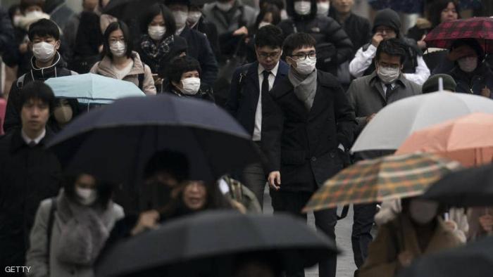 """أول وفاة من فيروس """"كورونا"""" في اليابان"""