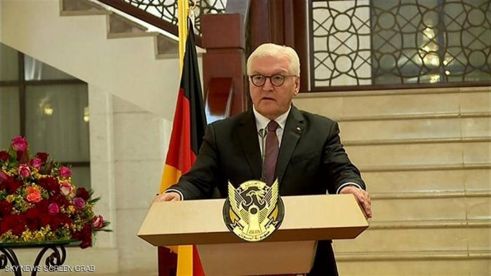 الرئيس الألماني يؤكد دعم بلاده للتحول السياسي في السودان