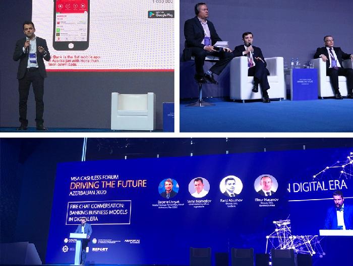 """BirBank """"Visa Cashless Forum""""da iştirak edib"""