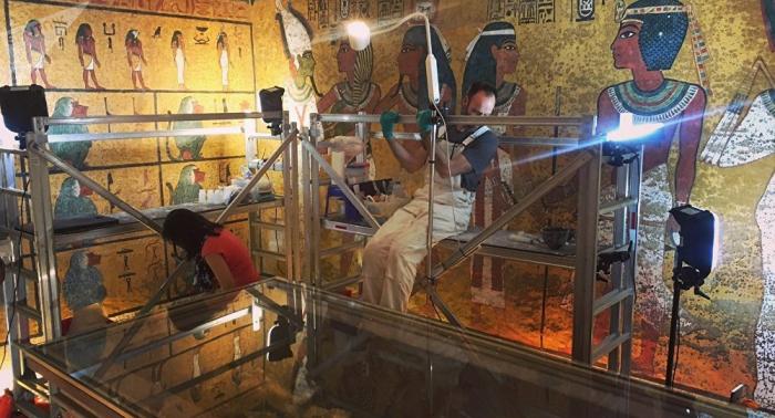 Des chambres secrètes attenantes au tombeau de Toutankhamon auraient été découvertes